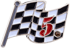 Checkered Flag Pin