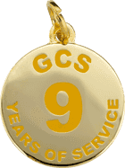 GCS 9 Years of Service