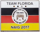 Seminole Tribe of Florida Flag Pin