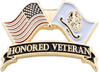 Veterans Flag Pin