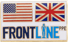 Front Line Flag Pin