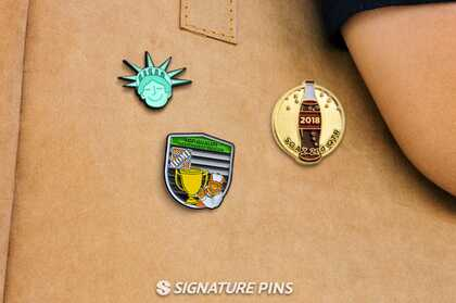 Soft Enamel Pins