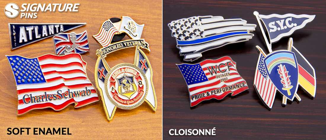 Signature-Pins-Flag-Pins-SoftEnamel-Cloisonne