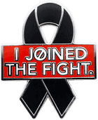 """""""I Joined the Fight"""" Awareness Ribbon"""