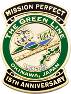 Okinawa Japan Military Pin