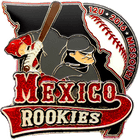 Mexico Rookies Baseball Pin