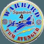 Warbird Military Pin