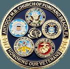 Honoring Veterans Military Pin