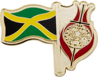 Jamaican Flag Pin