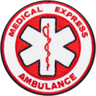 Medical-Express-Ambulance-patches