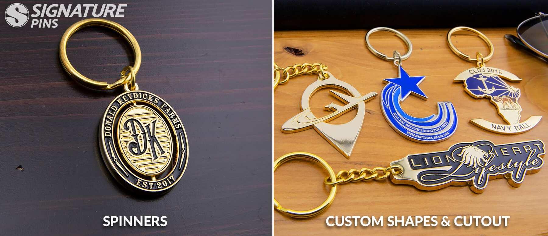 Signature-Pins-Custom-Shapes-Keychain-Spinner-Keychain