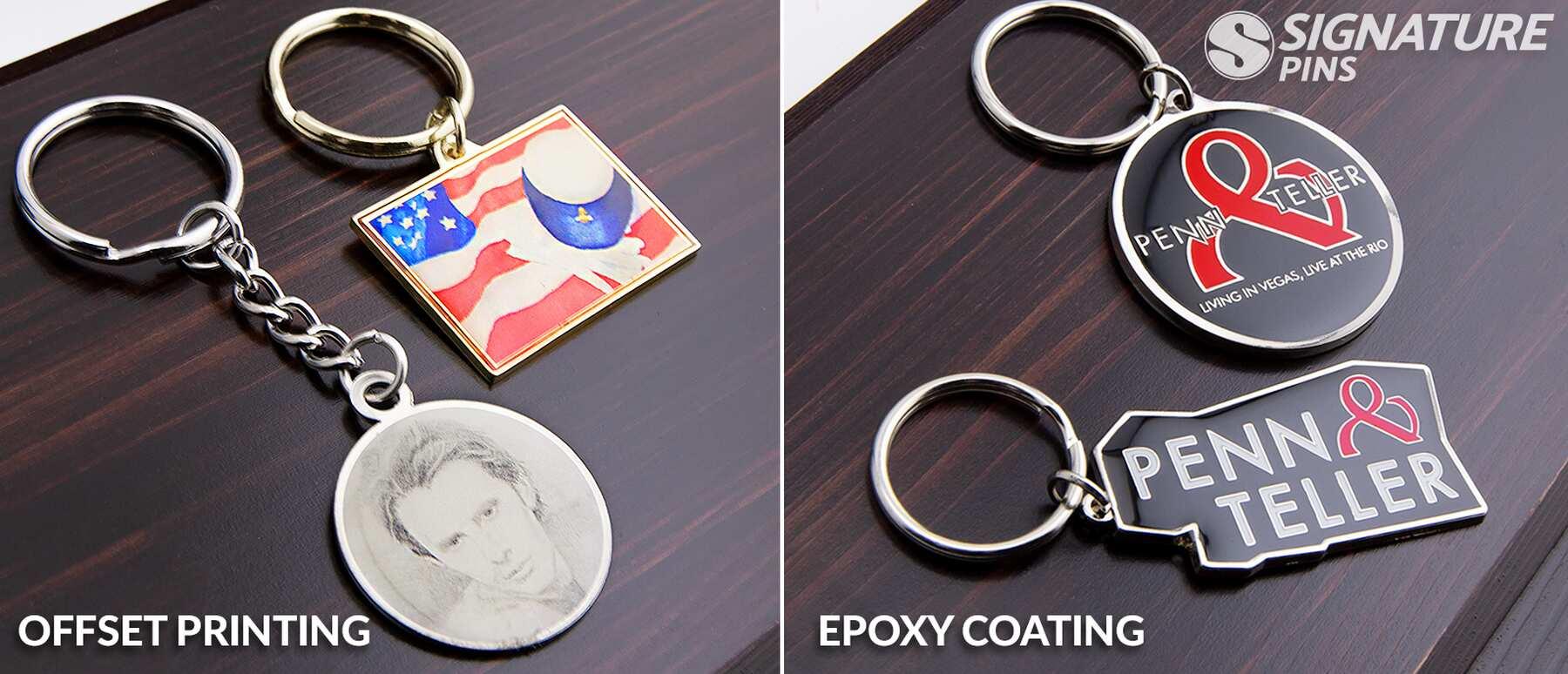 Signature-Offset-Print-Epoxy-Keychains