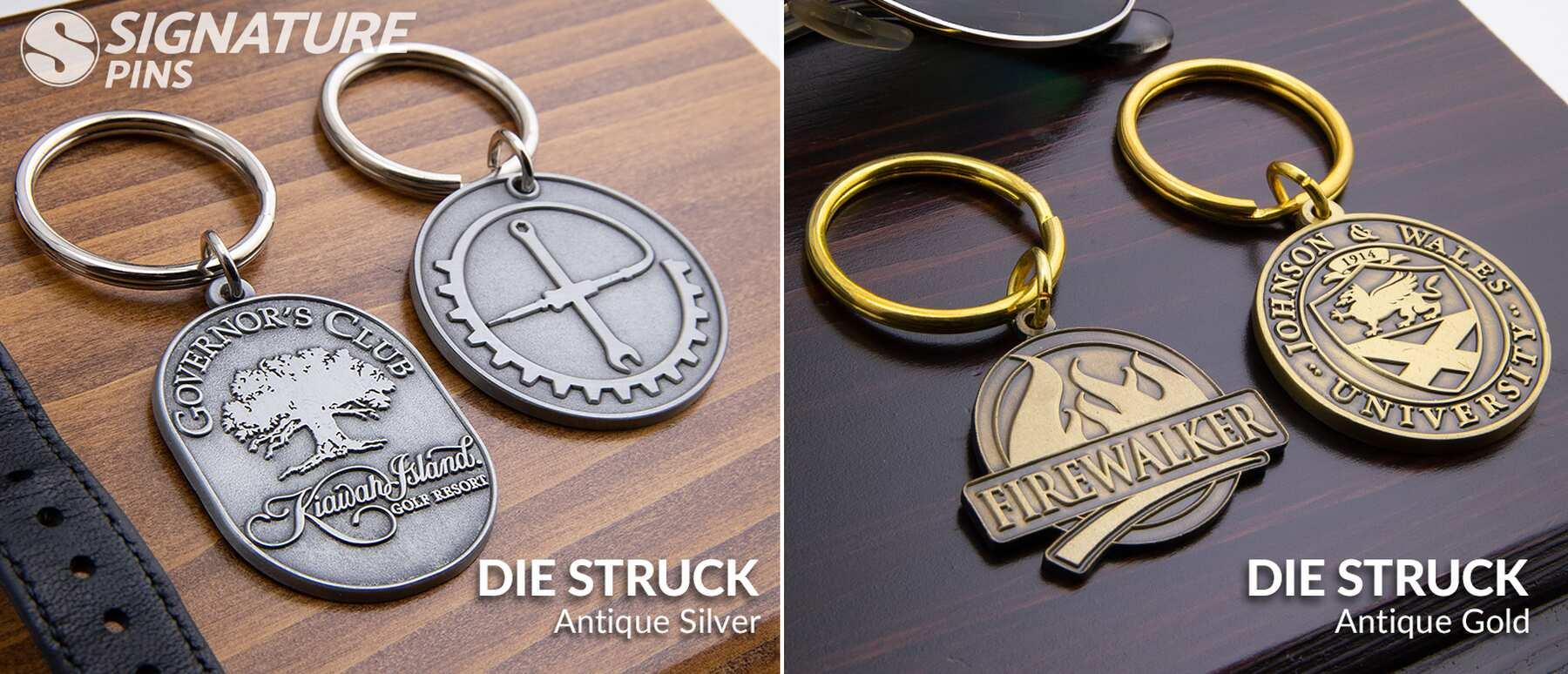 Signature-Pins-Die-Struck-Keychains