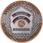 Carbondale Command Staff Coin