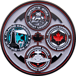 Canadian Garrison 20th Anniversary Challenge Coin Side 2