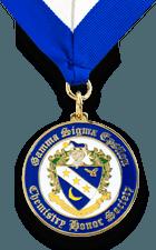 Gamma Sigma Epsilon Custom Graduation Medal