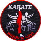 Karate Warren Levi Karate Patch