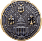 456720 Naval USN dual plating front