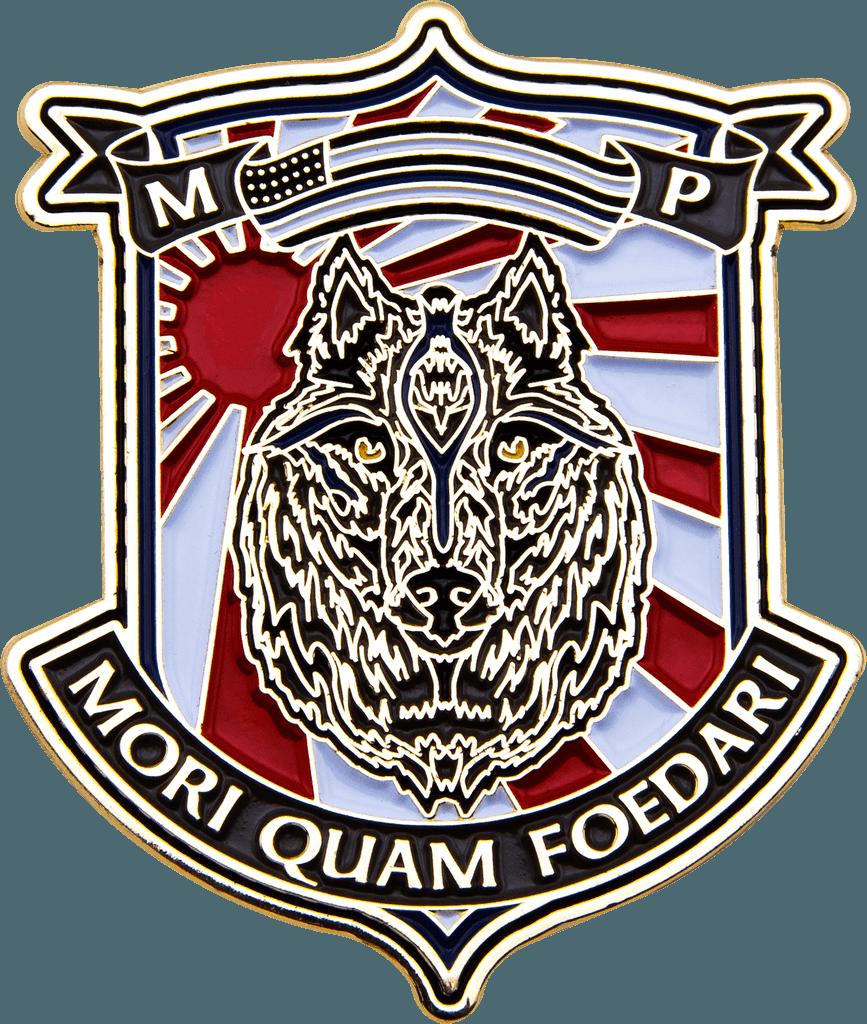 MCAS Iwakuni Marine challenge coin