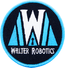 Walter Robotics iron on patch