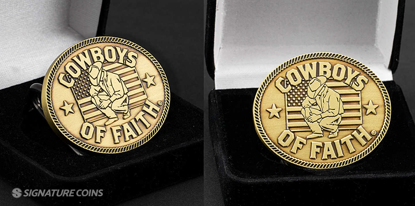 Challenge Coin Plating Options - Signature Coins