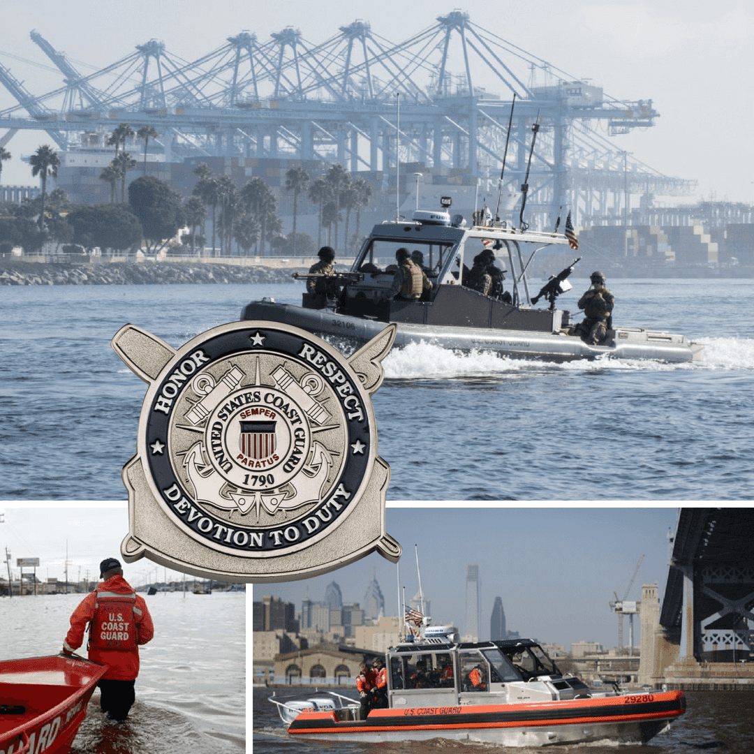 Coast Guard Chief Petty Officer Challenge Coins - Signature