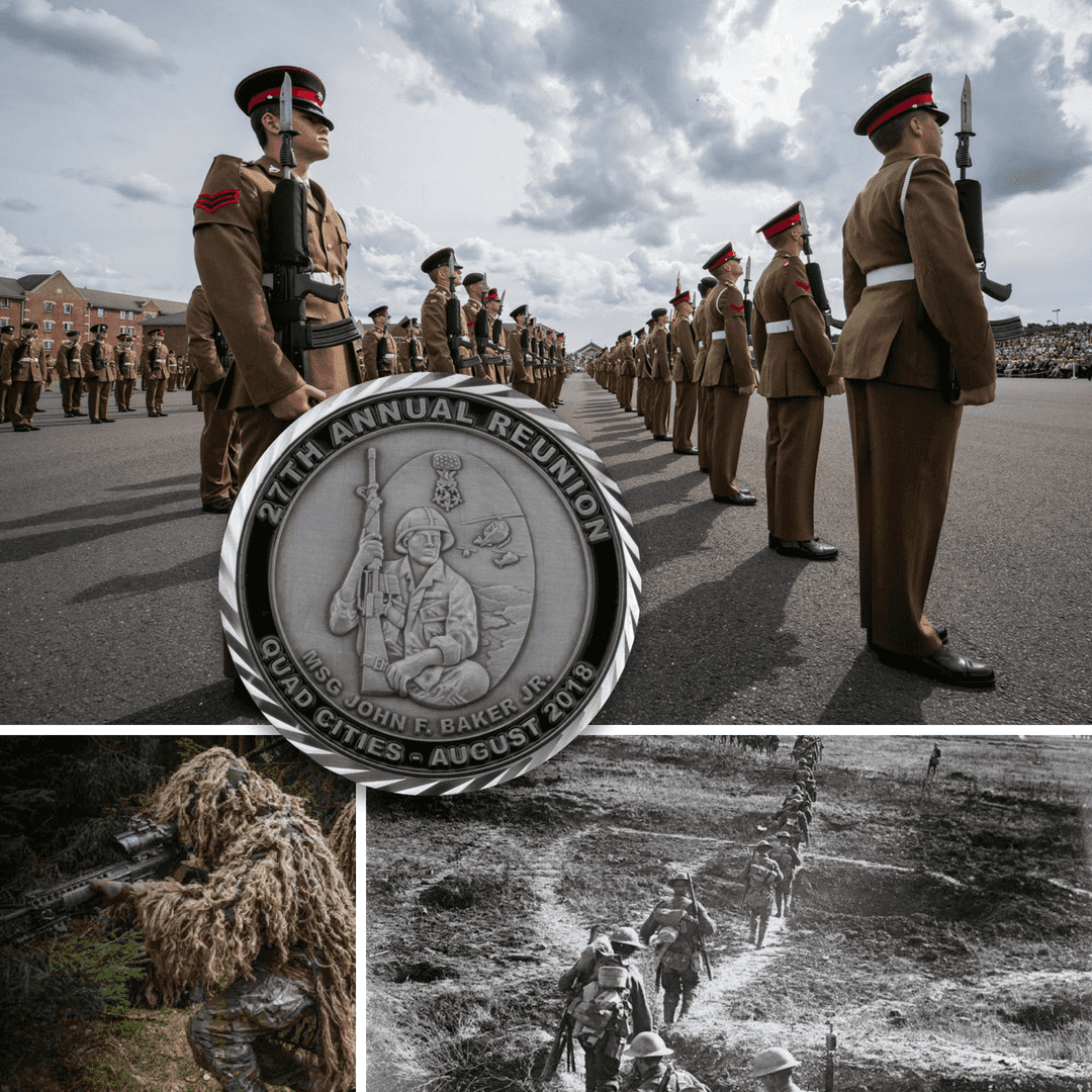British Army Challenge Coins - Signature Coins