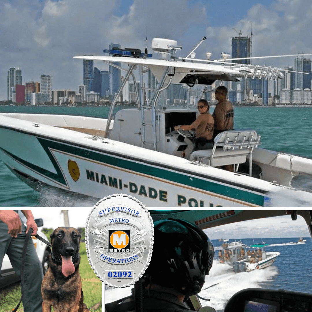 Miami Police Department Challenge Coins - Signature Coins