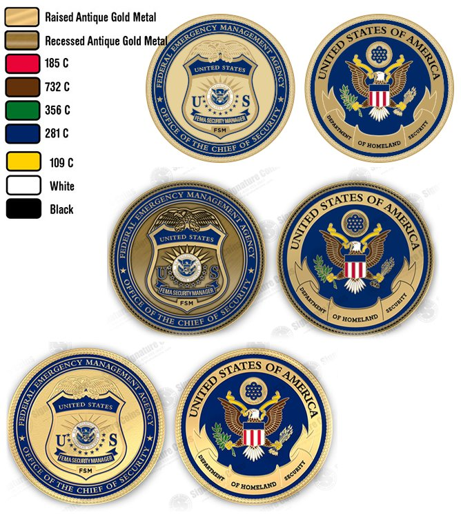 Challenge Coin artwork