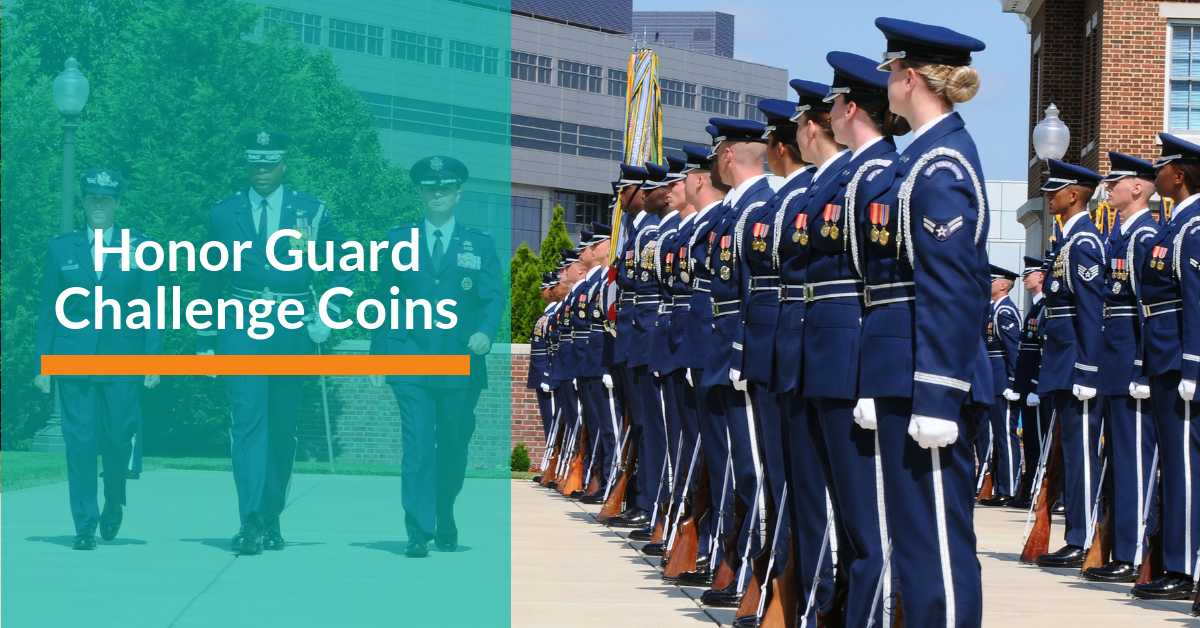 Honor Guard Challenge Coins - Signature Coins