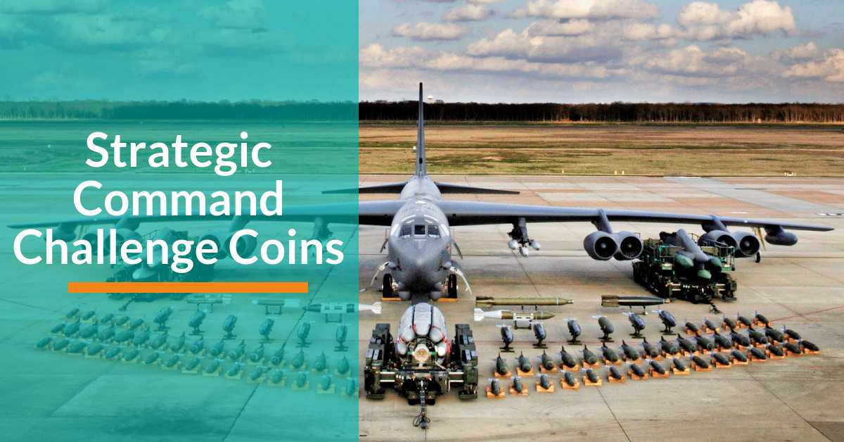 Strategic Command Challenge Coins - Signature Coins