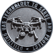 uas-technoology-to-serve-and-protect-3d-challenge-coin