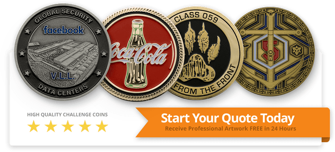 Start your challenge coin quote today