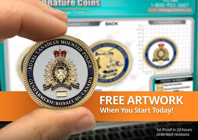 Free Artwork with Free Quote - Signature Coins