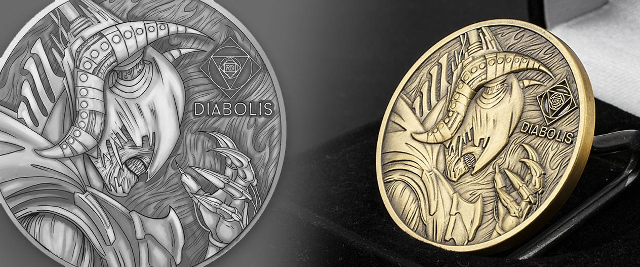 custom-diabolis-3D-relief-challenge-coin-by-signature-coins