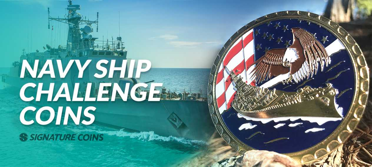Navy Ship Challenge Coins
