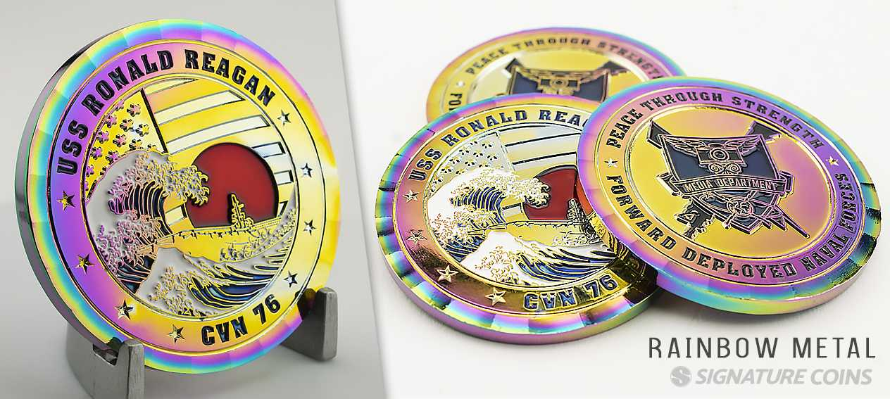 Signature Coins Navy Ship Challenge Coins1