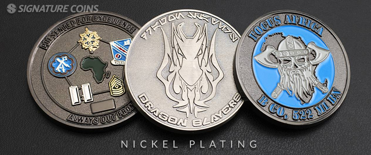 What Are My Plating Options? - Signature Coins