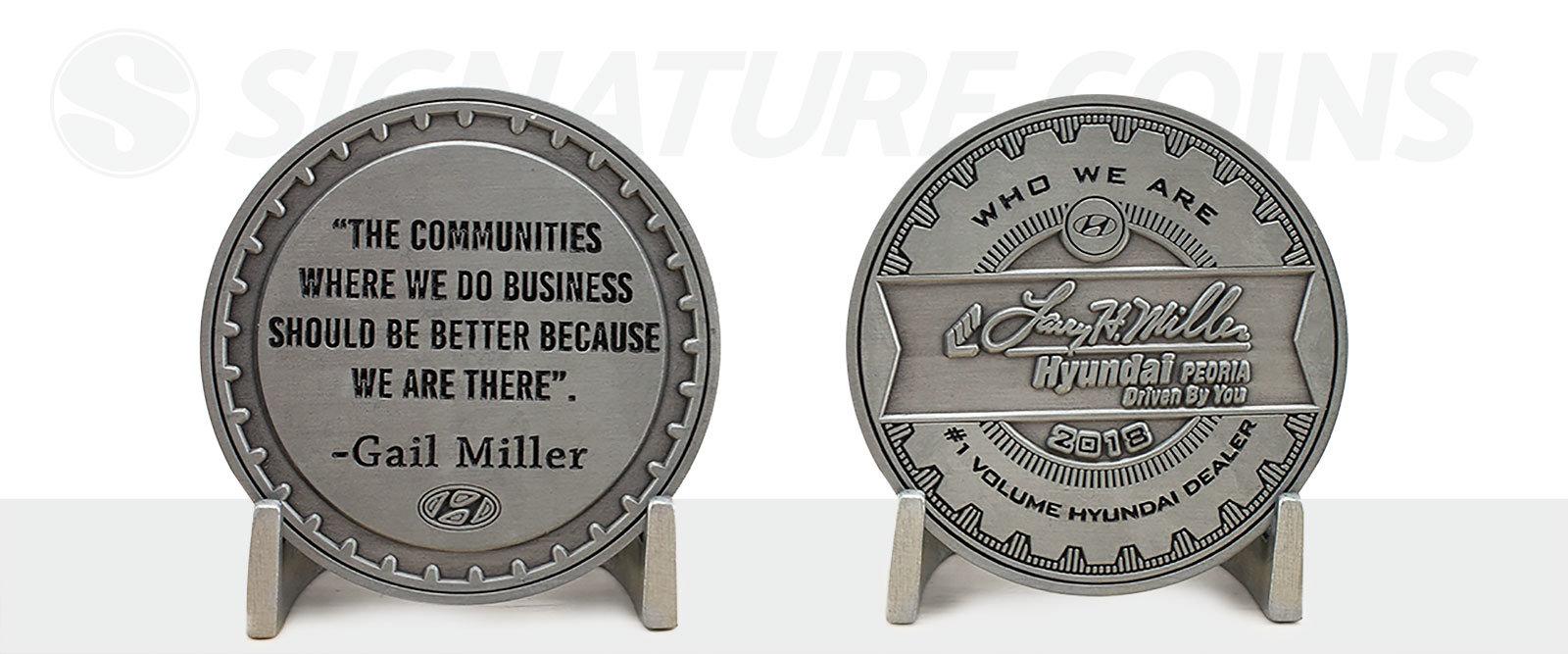 custom-coin-company-signature-coins-Hyundai-Coin