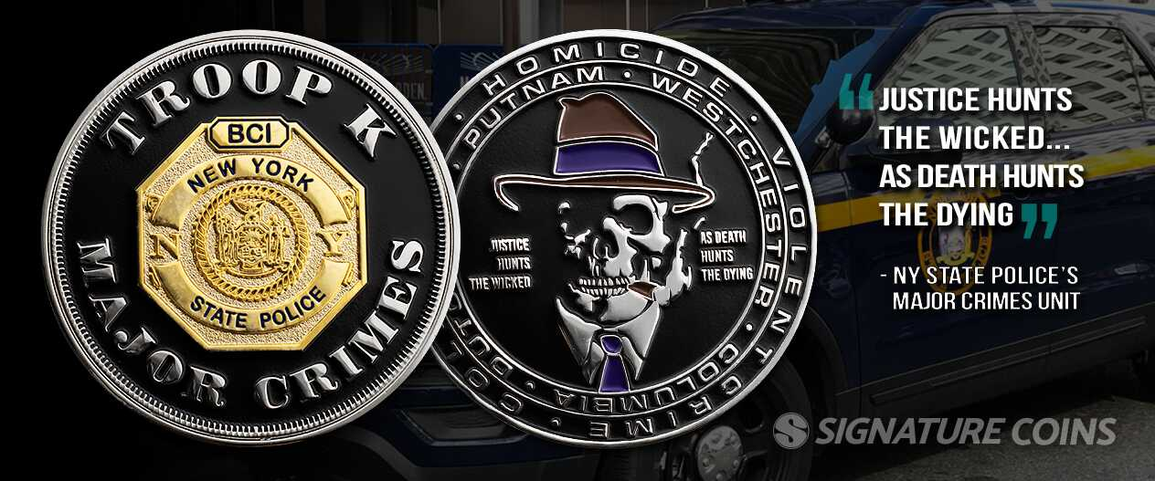 Honoring the State Police Around Our Country - Signature Coins